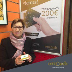 Micaela Royo, ganadora de 200 euros