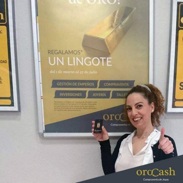 Ganadora Lingote de oro Córdoba
