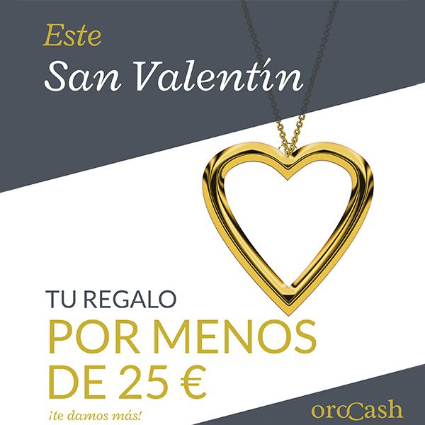 Regalo de San Valentín por menos de 25€
